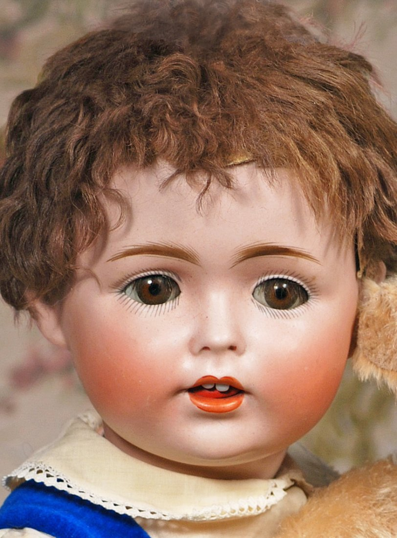 GERMAN BISQUE CHARACTER BABY BY KESTNER - 2
