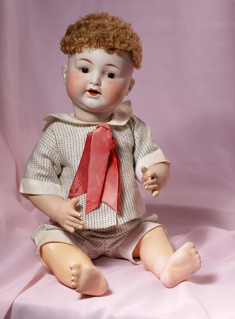 LARGE AMERICAN BISQUE BABY BY FULPER