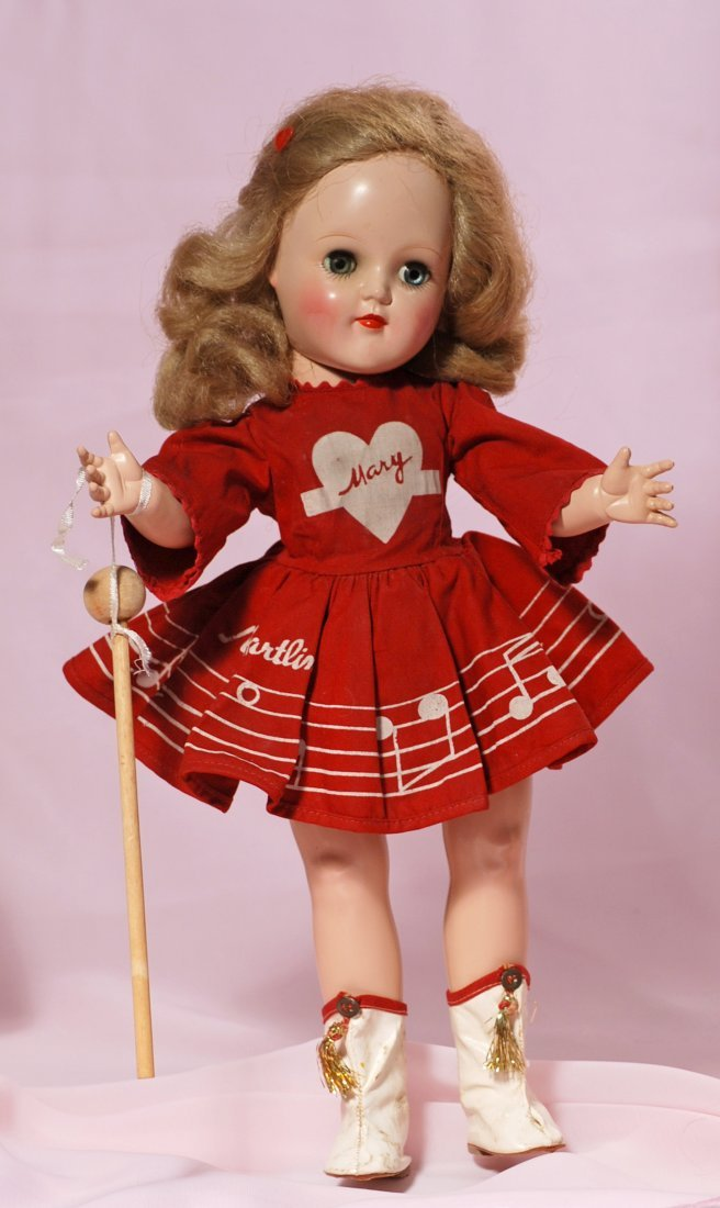 ALL-ORIGINAL HARD PLASTIC MARY HARTLINE DOLL