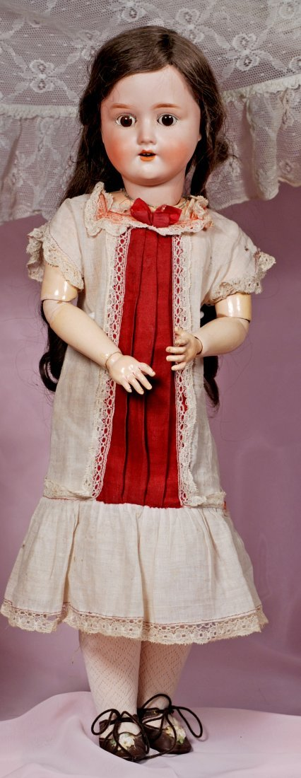 GERMAN BISQUE DOLL BY ADOLPH HELLER
