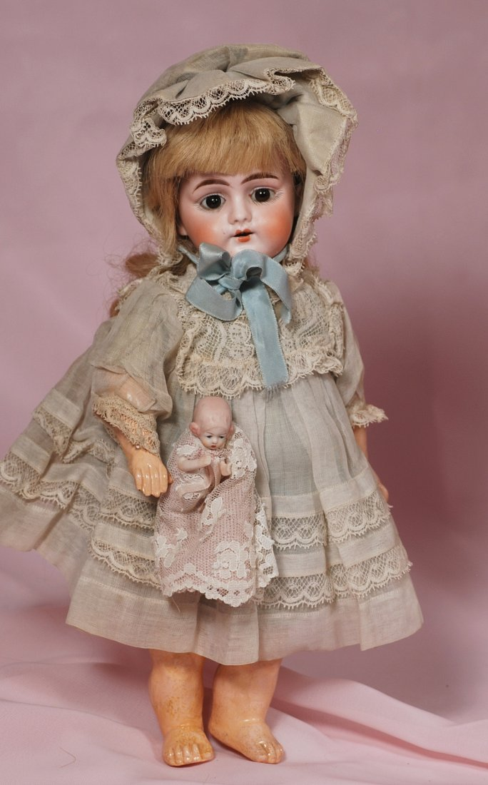 GERMAN BISQUE DOLL BY MYSTERY MAKER