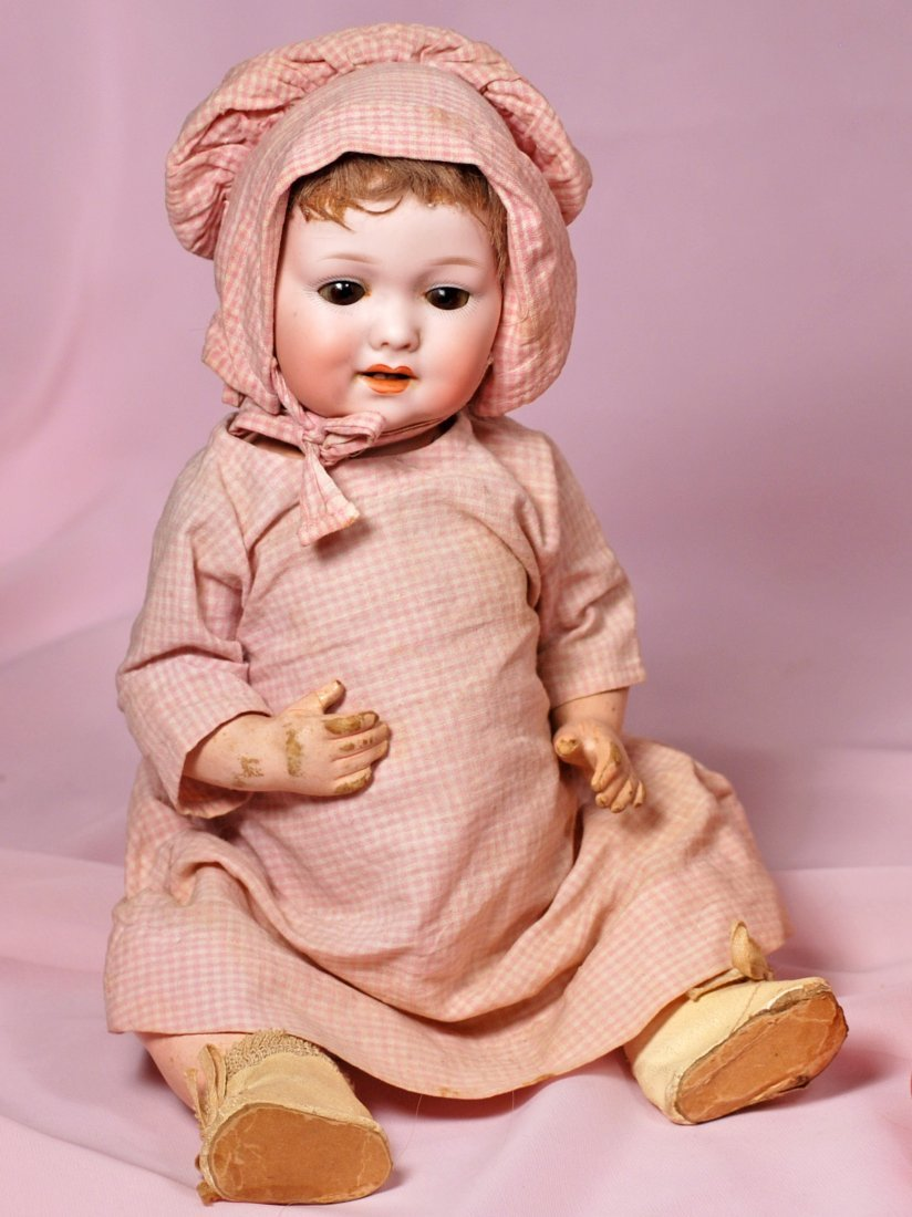 GERMAN BISQUE CHARACTER BABY BY MARSEILLE