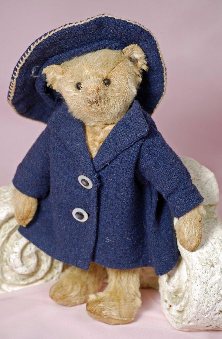 EARLY STEIFF TEDDY BEAR WITH BLANK EAR BUTTON