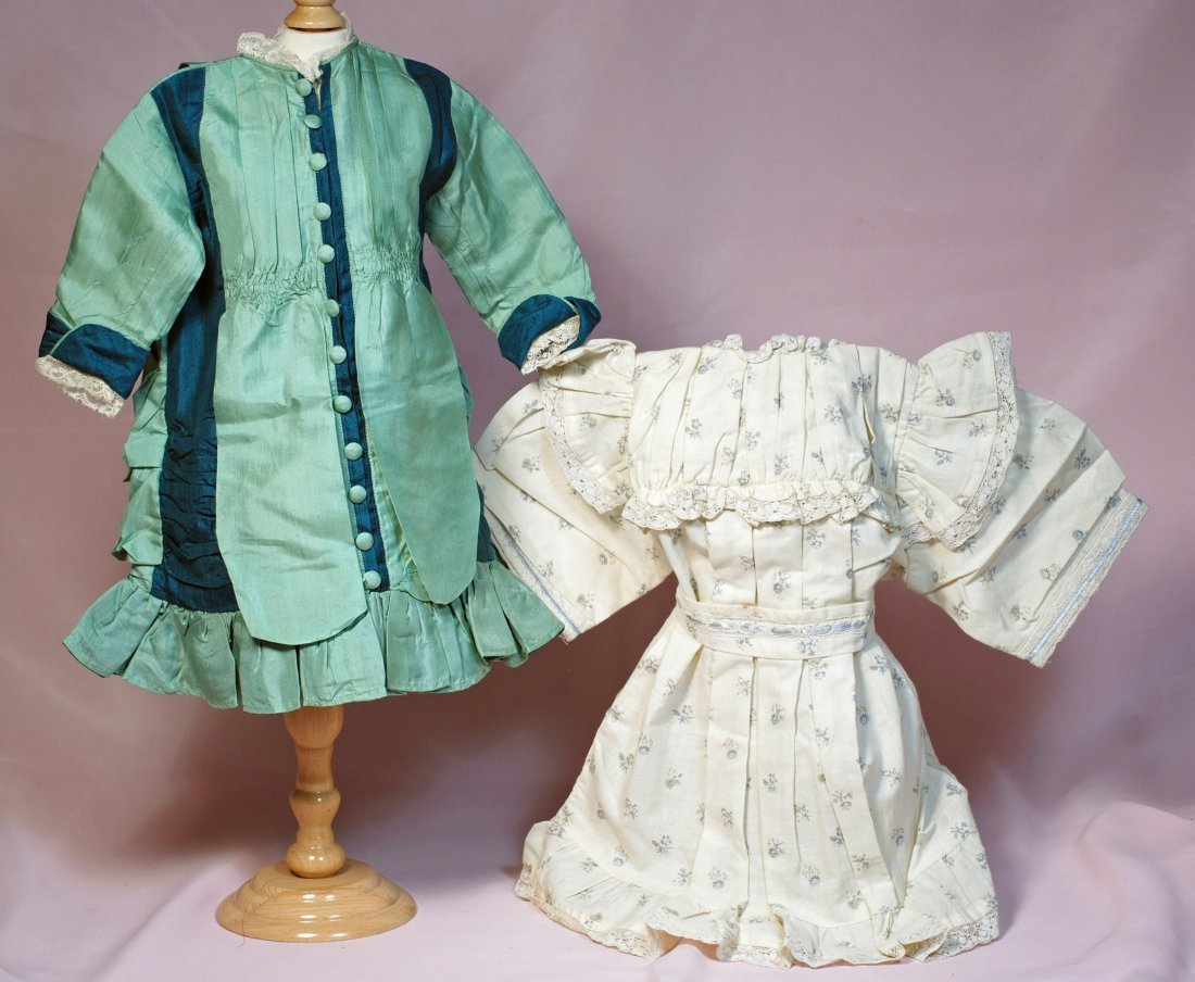 TWO DOLL DRESSES