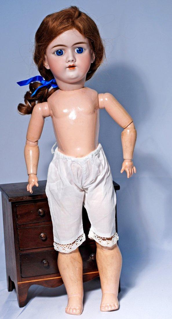 HANDWERCK GERMAN BISQUE CHILD DOLL, MOLD 99.