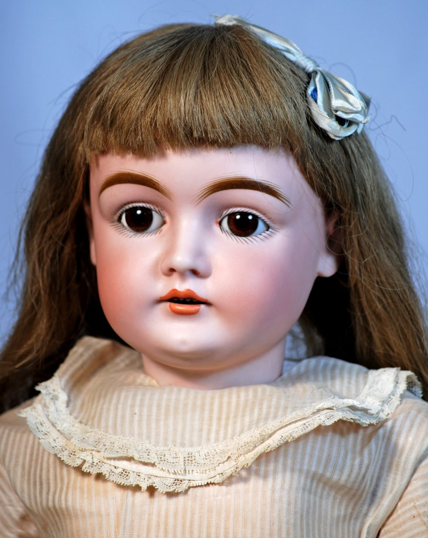 PRETTY GERMAN BISQUE DOLL, MOLD 146, BY KESTNER - 2