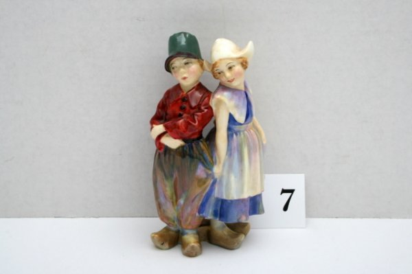 7: Royal Doulton Willy Want He""