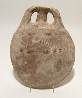 A Lovely Holy Land Pilgrim's Flask, Byzantine
