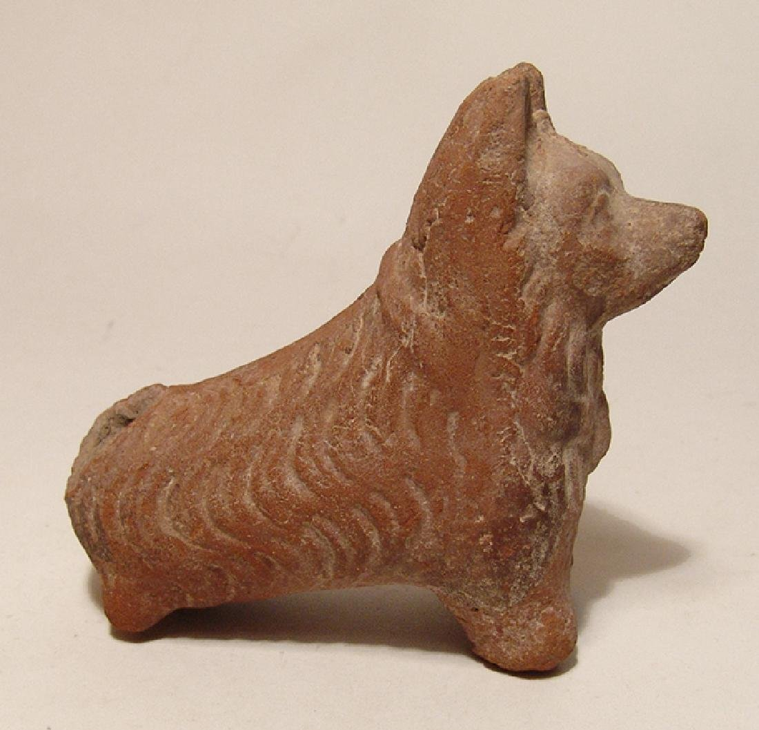 A Roman ceramic figure of the Sothic dog, Egypt