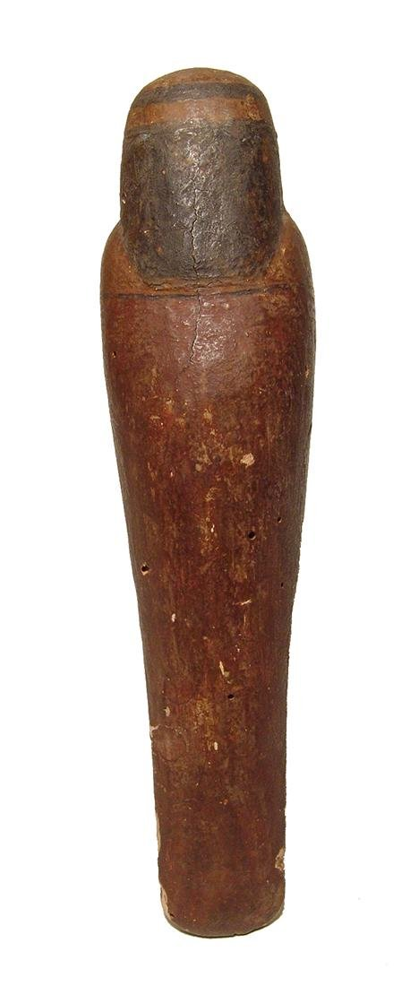 Handsome Egyptian wooden Ba bird, Late Period - 4