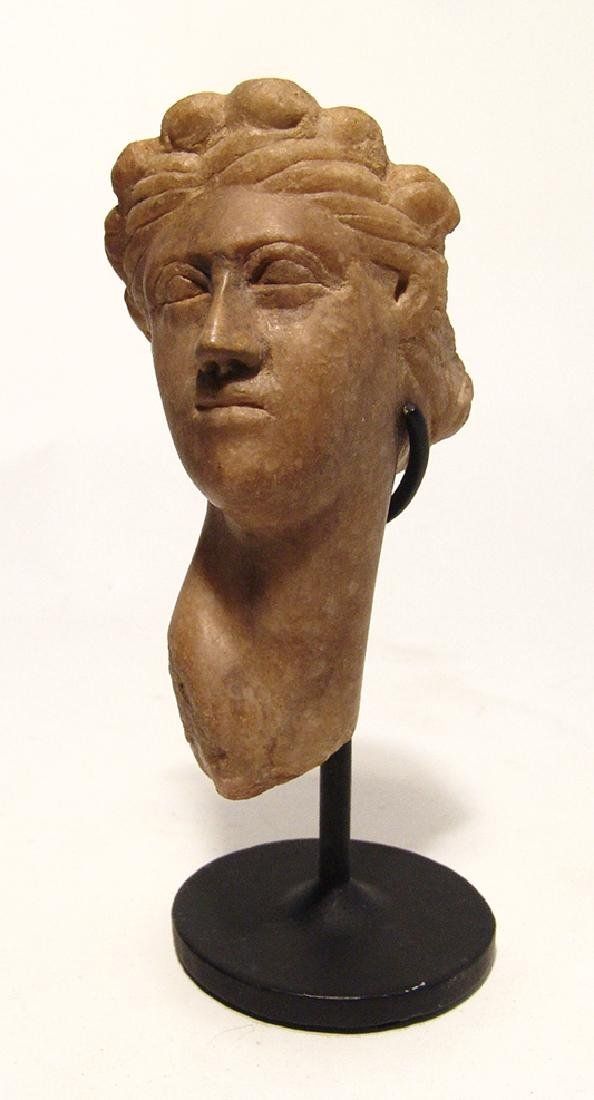 A lovely Roman marble head of Aphrodite - 6