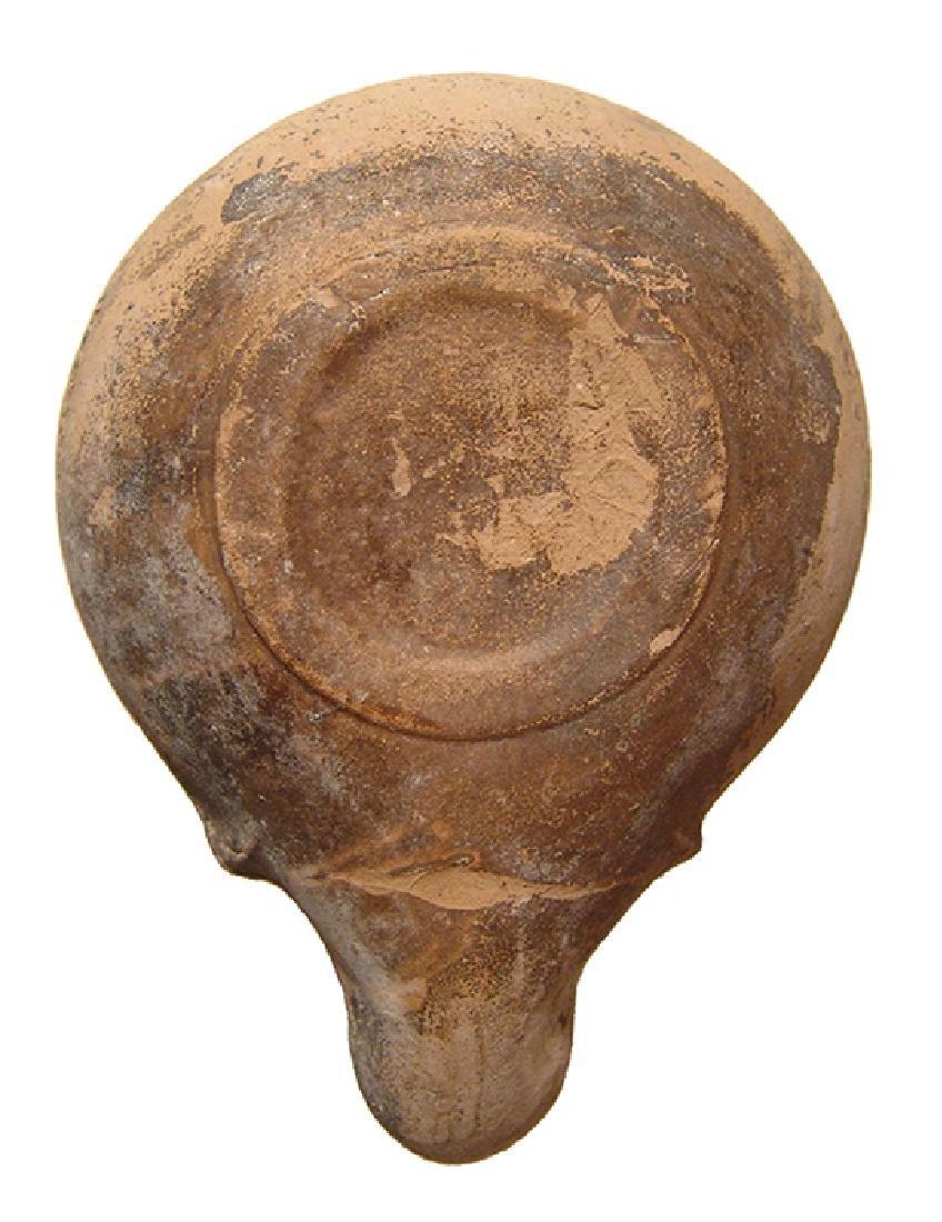 A nice erotic Roman oil lamp - 3