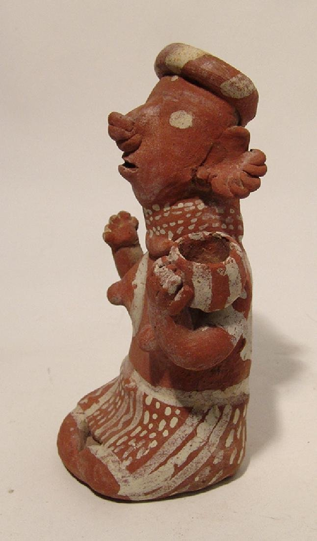 A handsome Nayarit Ixtlan del Rio style seated woman - 3