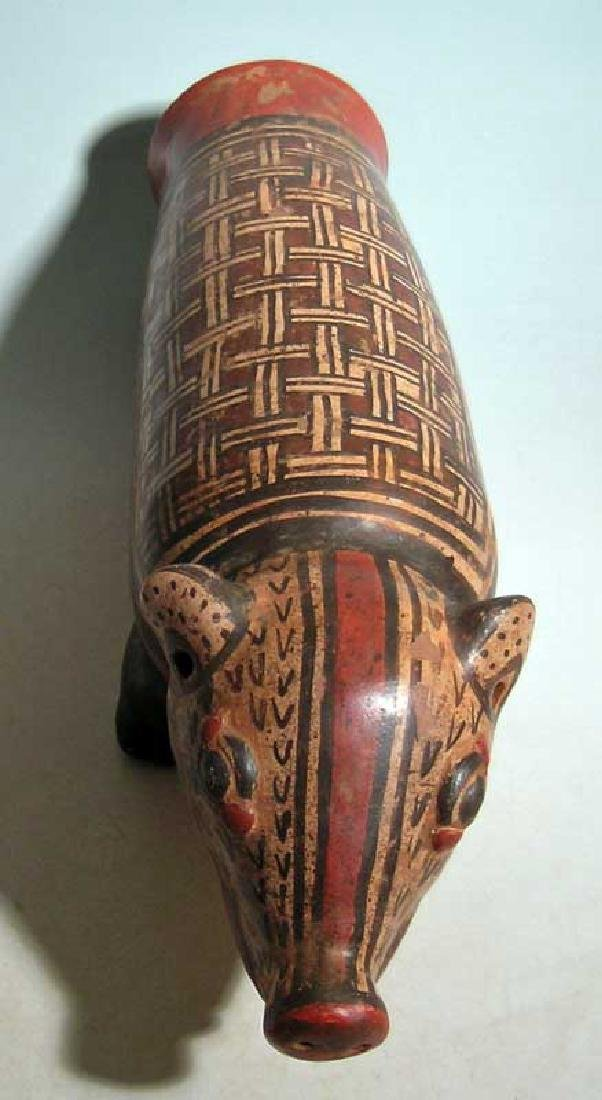 Marvelous Nicoya zoomorphic effigy drum from Costa Rica - 3