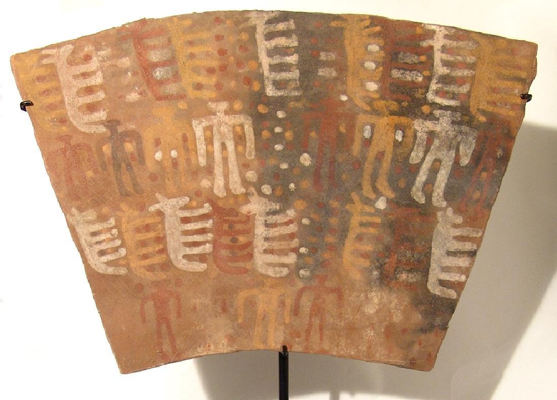 A Chuco ceramic tablet, c. 13th Century - 2