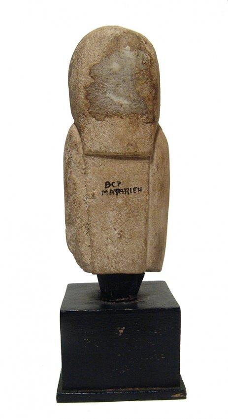 Detailed Egyptian limestone figure of a concubine - 5