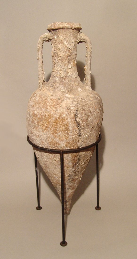 Magnificent Roman transport amphora and lid, Republic - 2