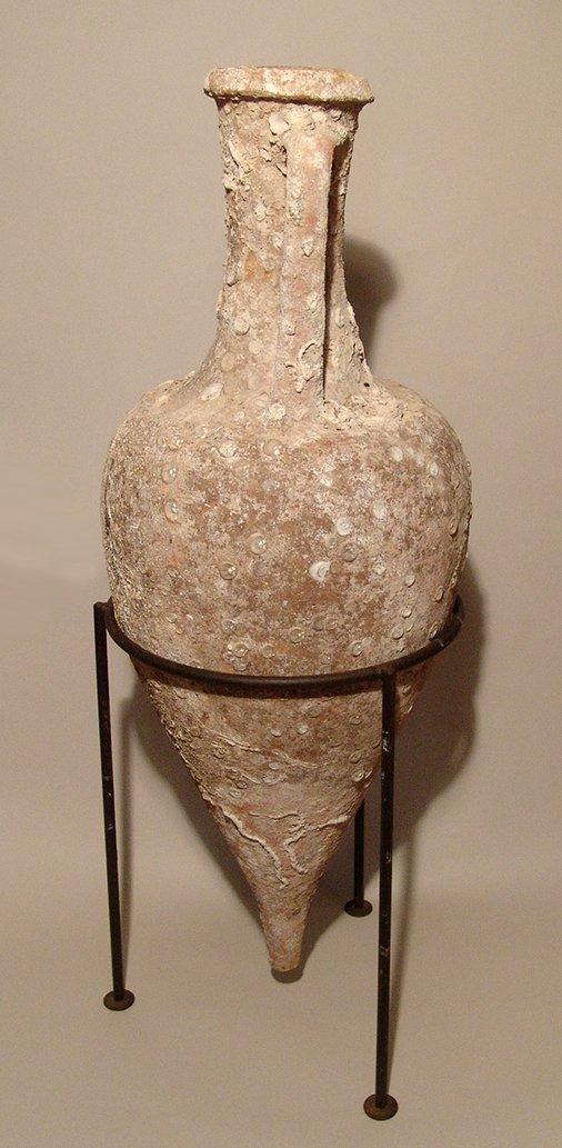 Magnificent Roman transport amphora and lid, Republic - 4