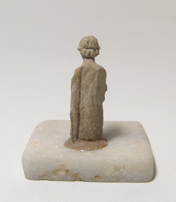 A choice Roman bone figure of a woman - 3