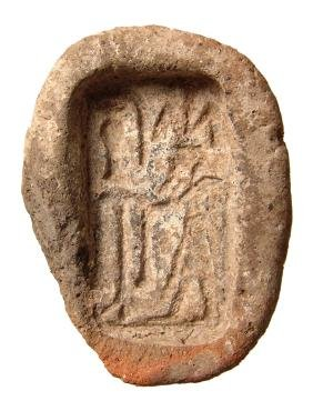 Egyptian amulet mold for a plaque depicting Hapi