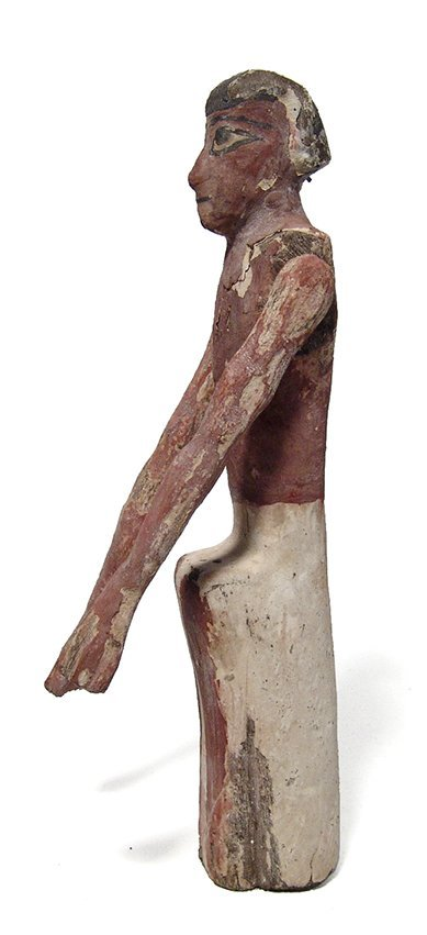 An Egyptian wooden figure, Middle Kingdom - 3