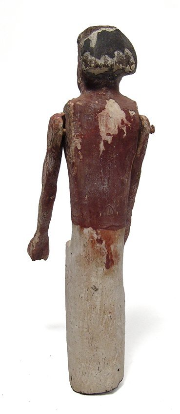 An Egyptian wooden figure, Middle Kingdom - 4