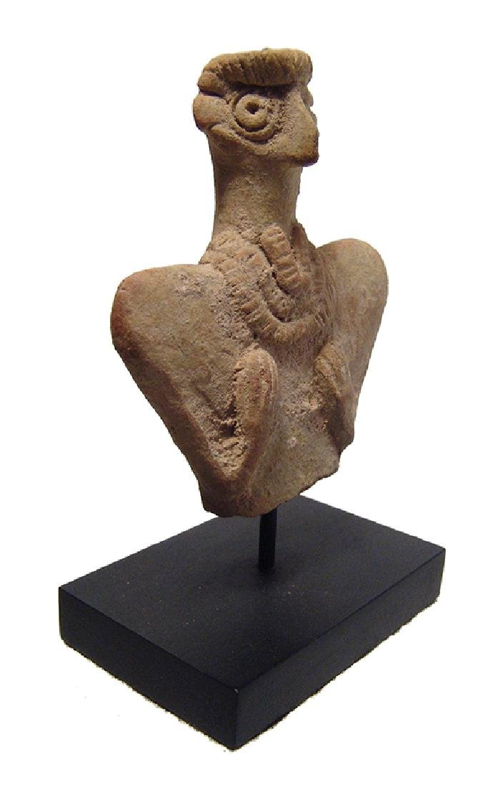 A detailed Near Eastern terracotta bust of Astarte - 2
