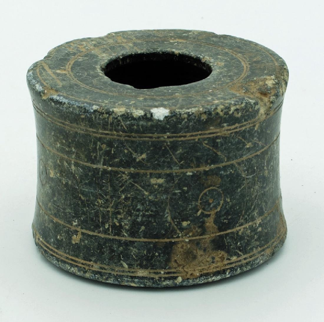 An excellent Bactrian stone container