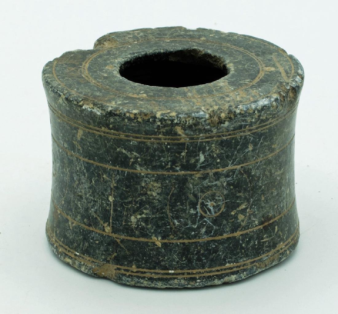 An excellent Bactrian stone container - 2