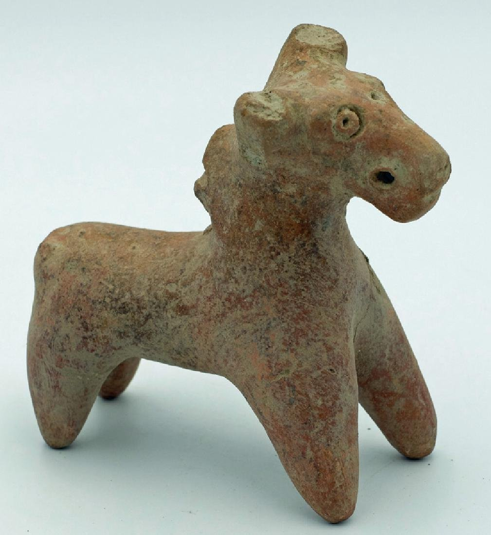 An Indus Valley clay bull