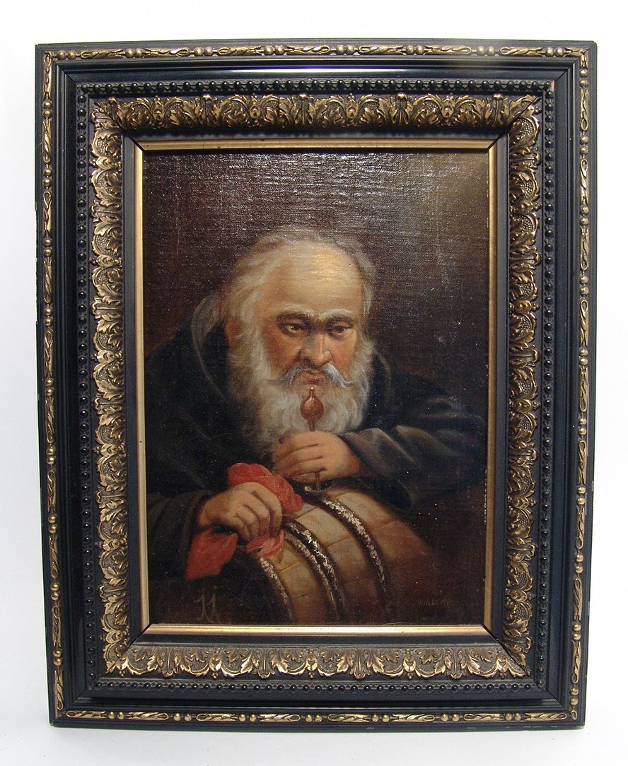 Friedrich Hohbach (1809-1877), signed oil on panel