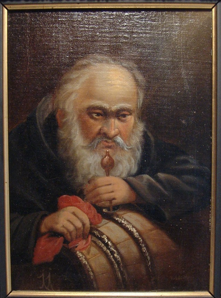 Friedrich Hohbach (1809-1877), signed oil on panel - 2