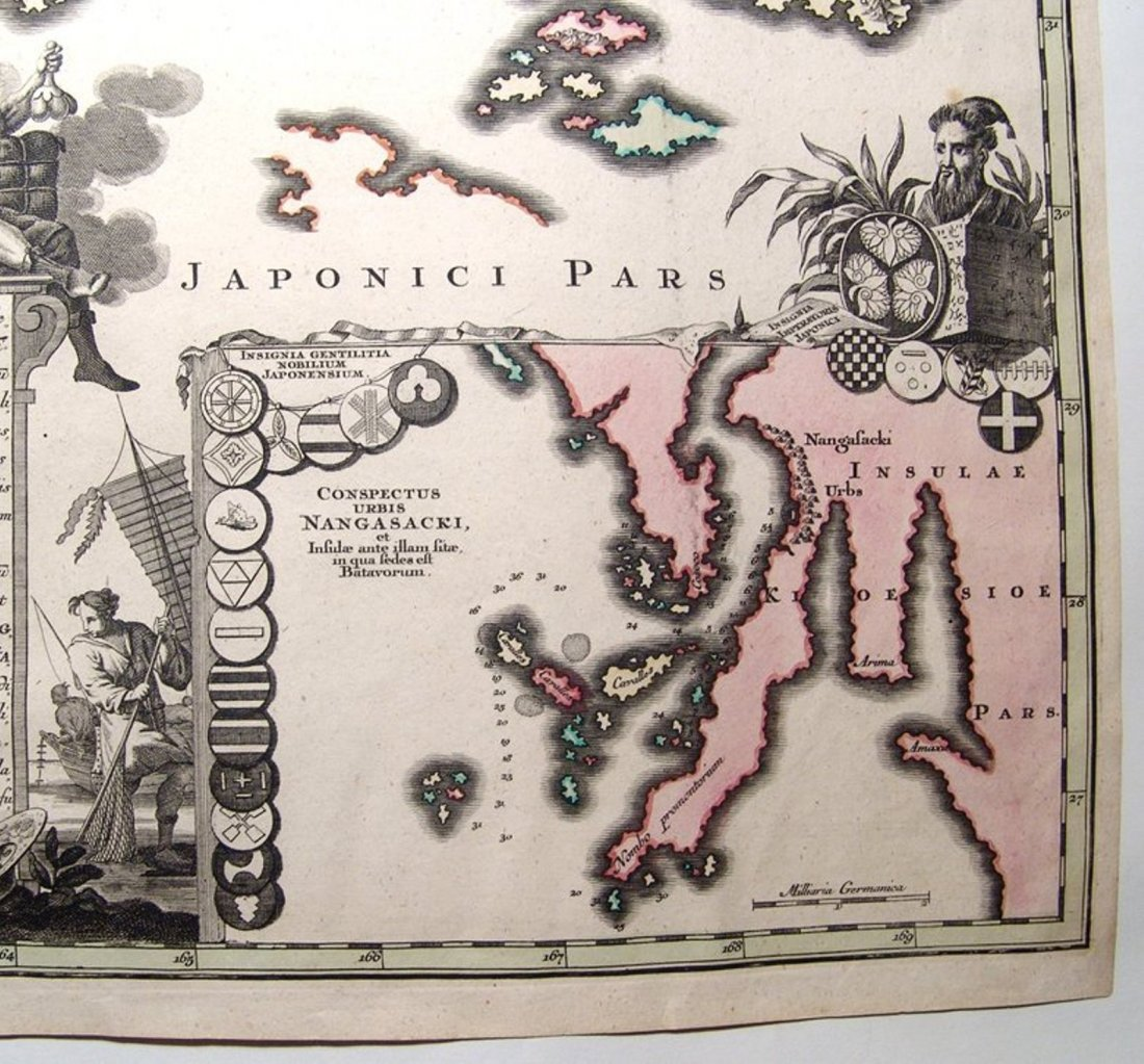 Large and impressive 18th C. map of the Empire of Japan - 4