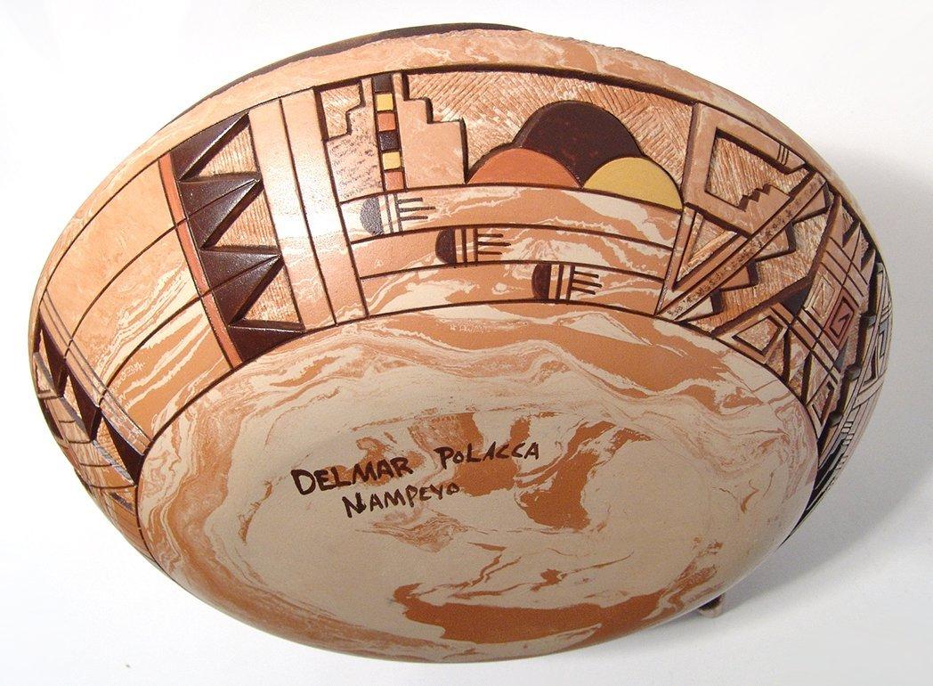 Hopi ceramic seed pot by Delmar Polacca Nampeyo - 4