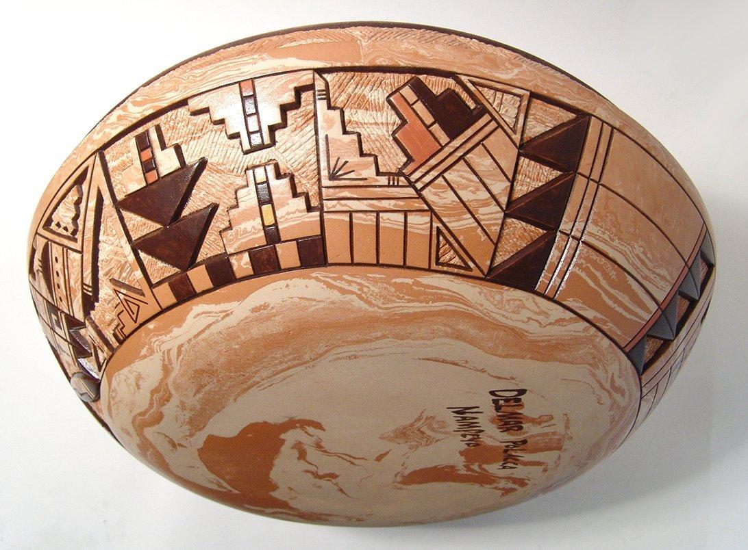 Hopi ceramic seed pot by Delmar Polacca Nampeyo - 6