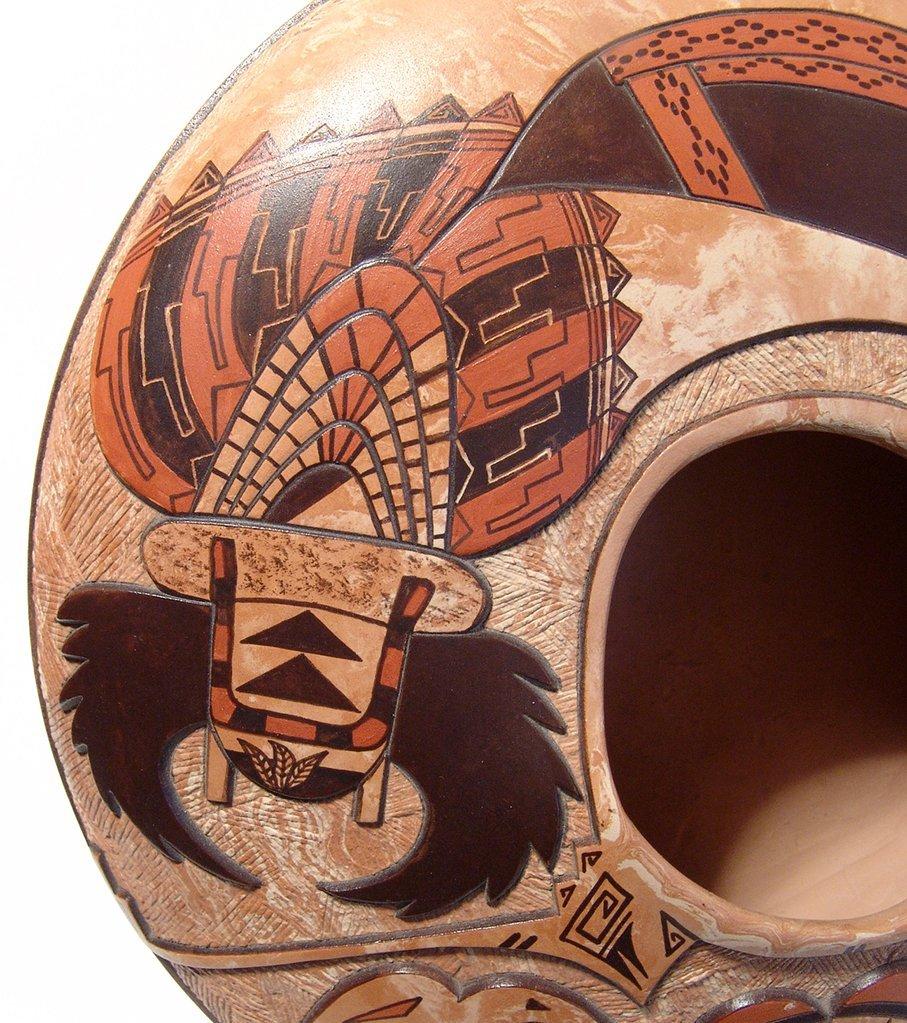 Hopi ceramic seed pot by Delmar Polacca Nampeyo - 7