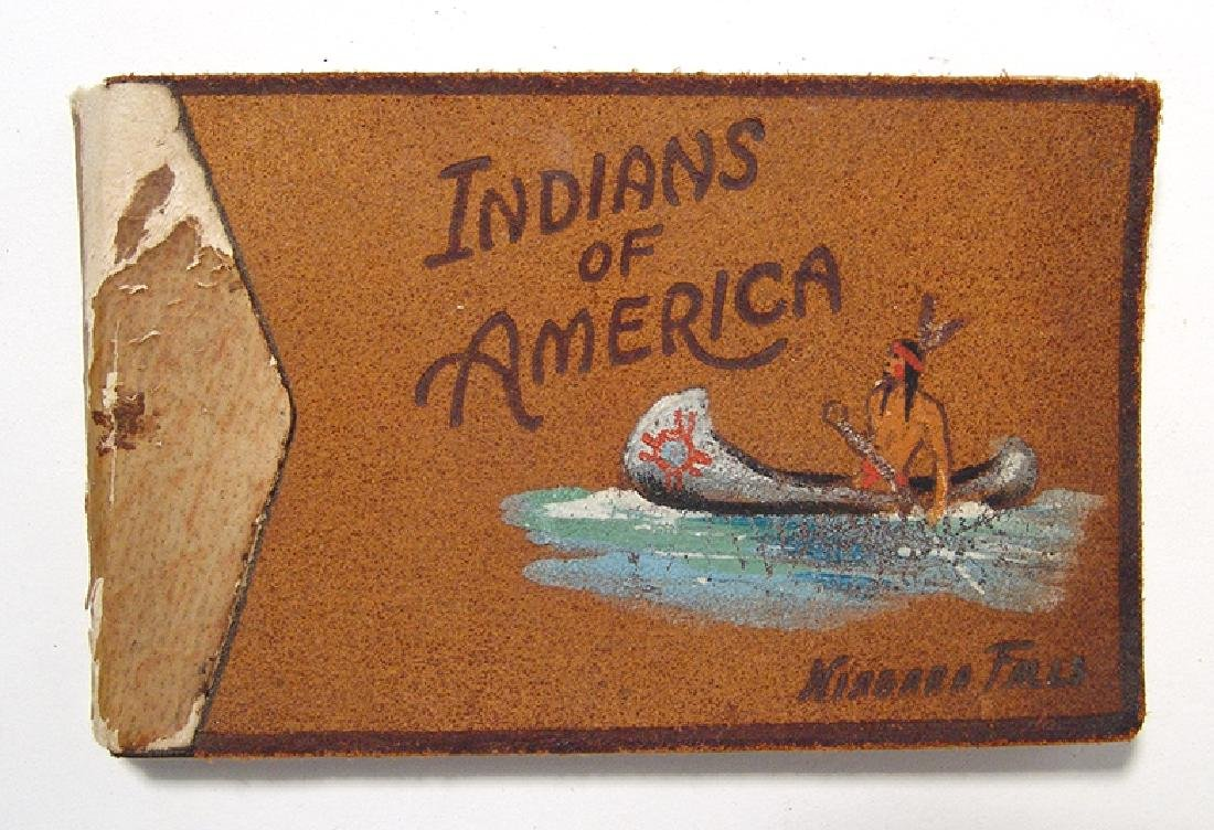 Cute antique book entitled 'Indians of America'