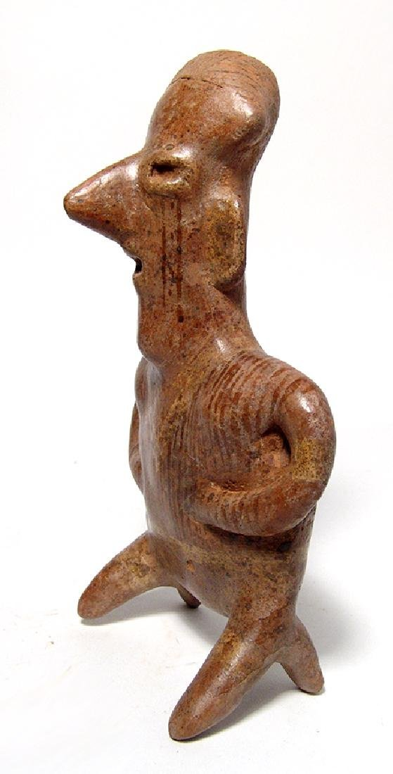 An attractive Nayarit kneeling male figure - 3