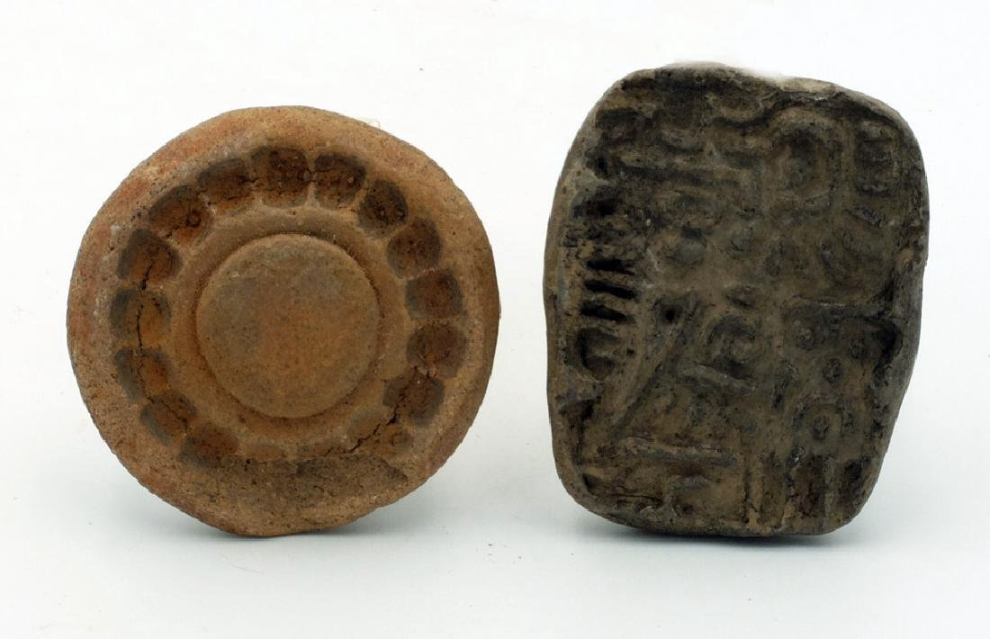 A pair of molds from Teotihuacan, Mexico