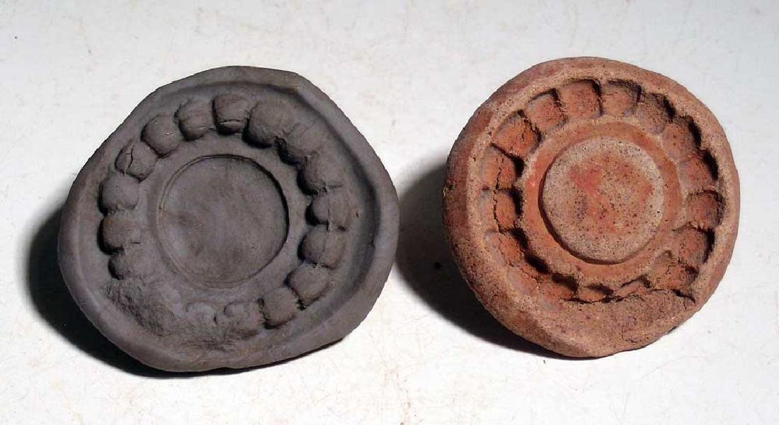 A pair of molds from Teotihuacan, Mexico - 2