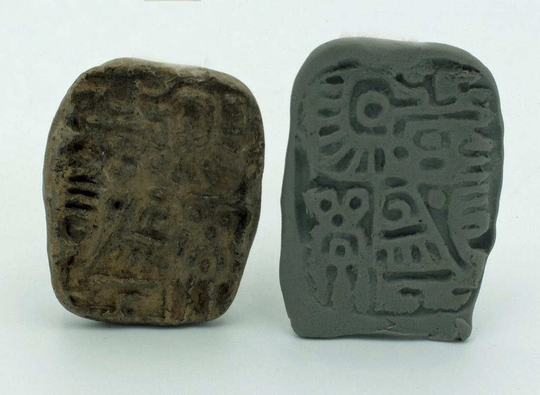 A pair of molds from Teotihuacan, Mexico - 4