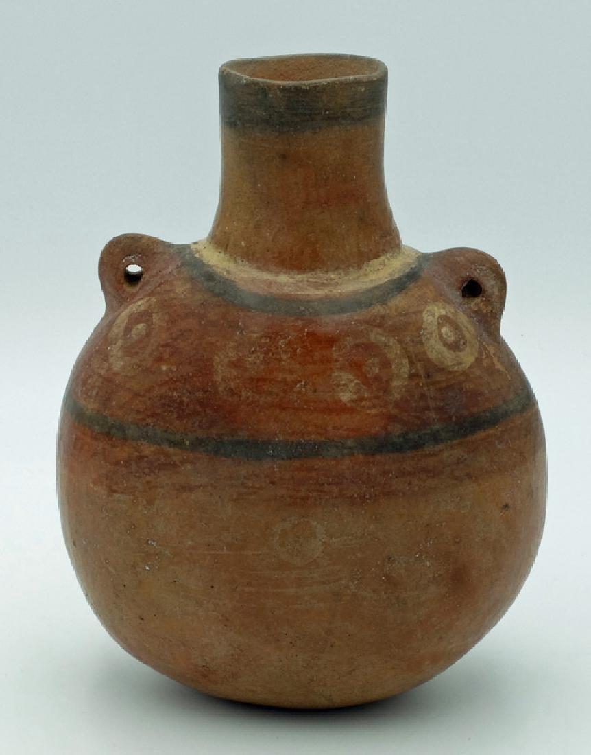 An excellent Pre-Columbian canteen - 3
