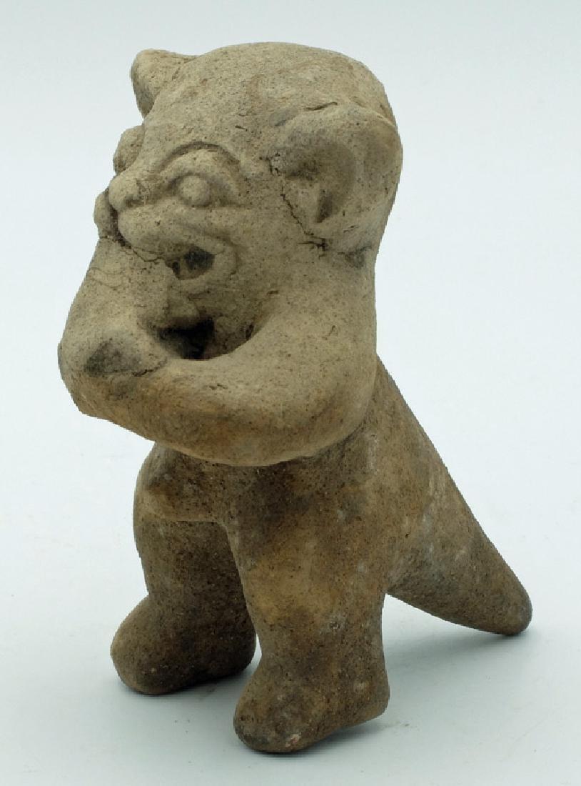 Excellent La Tolita Jaguar deity effigy from Ecuador - 2