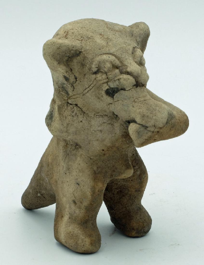 Excellent La Tolita Jaguar deity effigy from Ecuador - 3