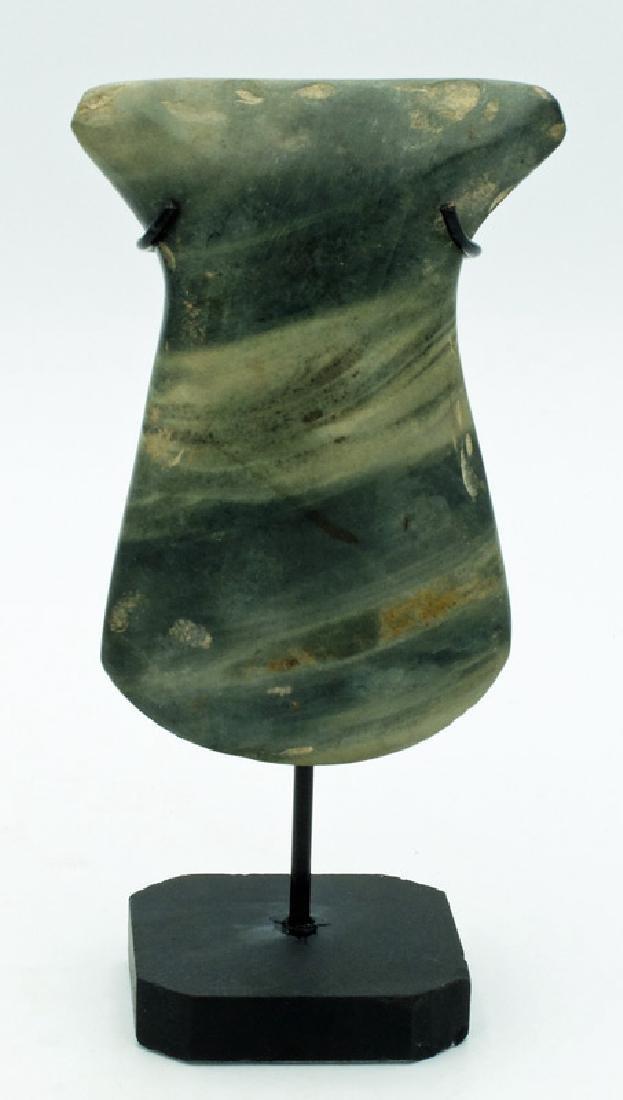 A beautiful Valdivia stone celt from Ecuador
