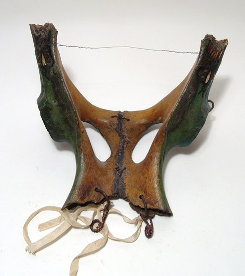 A Mexican 'Mojiganga' procession mask, Mochitlan - 5