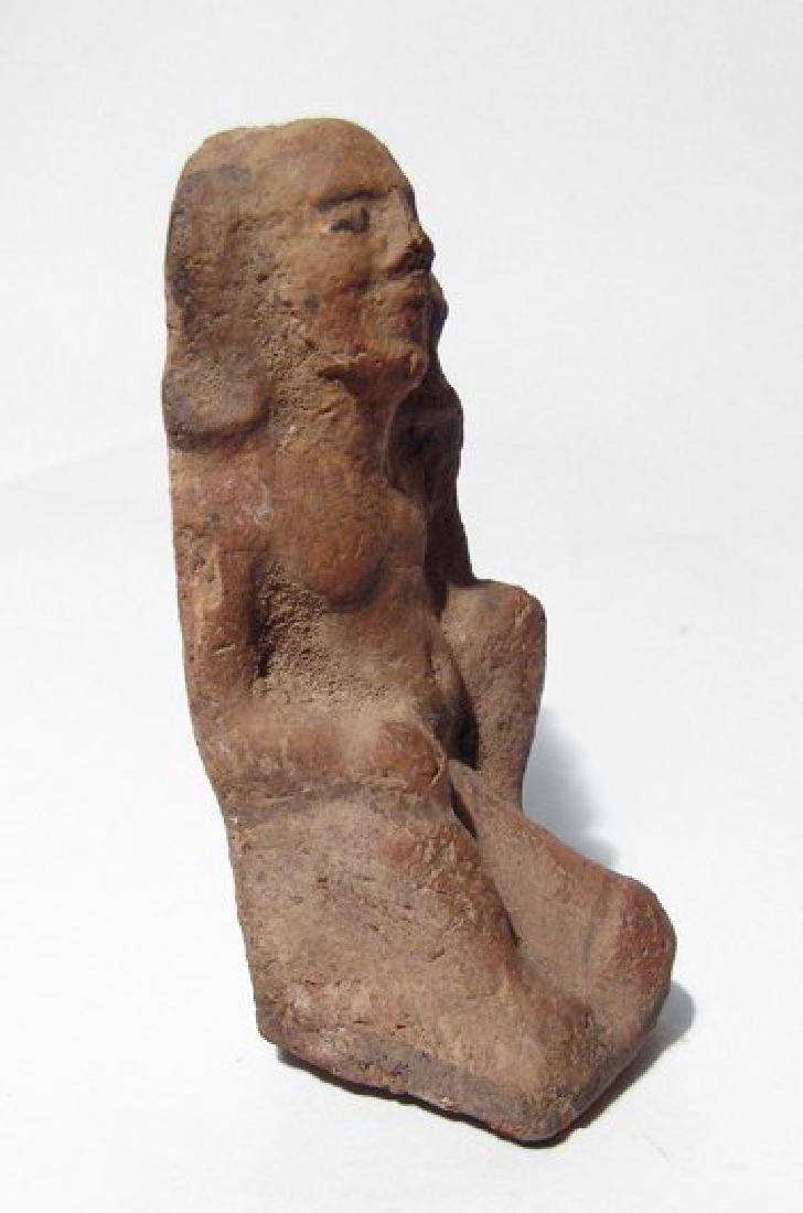 Egyptian ceramic figure of ithyphallic - 2