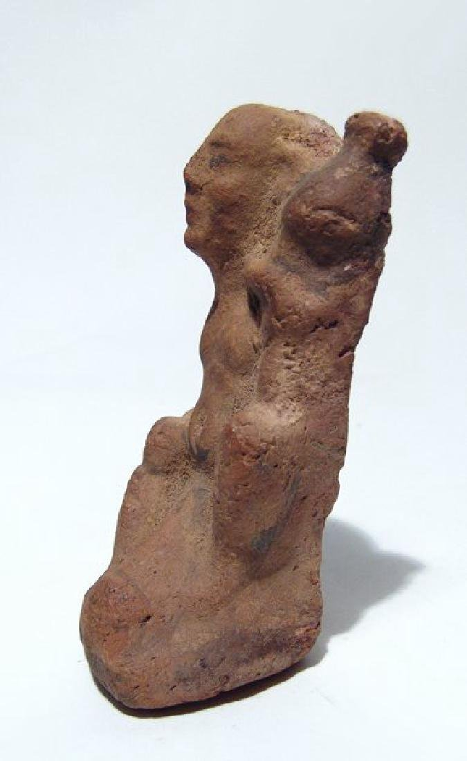 Egyptian ceramic figure of ithyphallic - 3