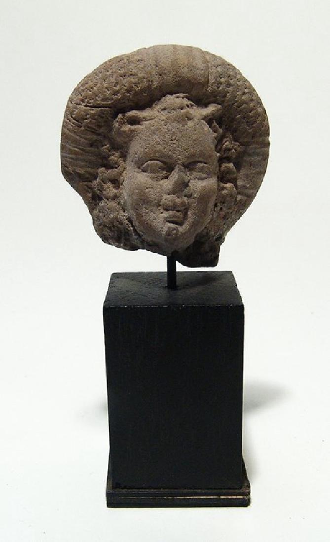 A Romano-Egyptian head of Harpokrates
