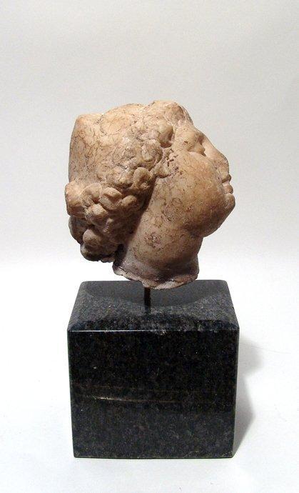 A beautiful Roman marble head of an enraptured Venus - 3